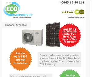 Heat Pump E-Mail Campaign
